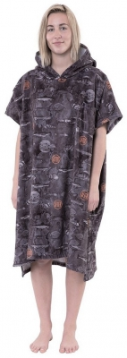 After Essentials Poncho Sea World Dark Grey 2020